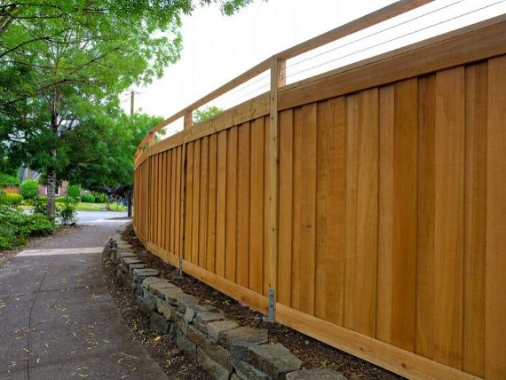 timber fencing wollongong